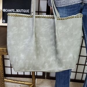 B-low the Belt Studded Tote